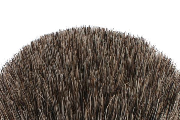 Blaireau Plisson - poil gris de Russie
